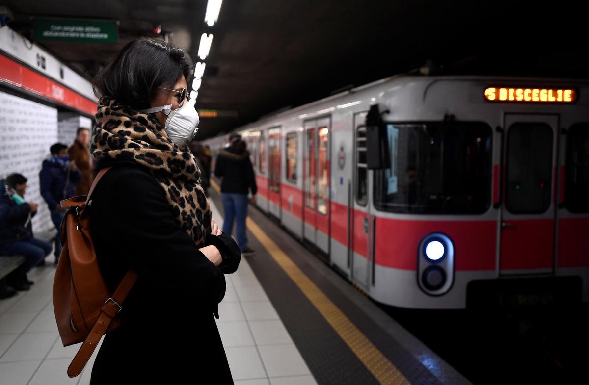 Seventh Italian dies from coronavirus in Europe's worst flare-up